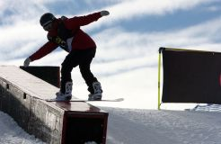 Sole Brit Left Competing in Snowboard Ladies' Slopestyle In Action Tomorrow
