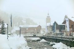 Heavy Snow in Austria, Switzerland and parts of France