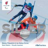 Third Medal For British Paralympic Pair in Pyeongchang.