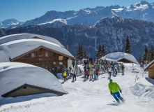 Fresh Snow But High Avalanche Risk in the Alps