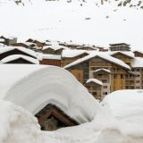 Snow Falling in the Alps, Dolomites, Pyrenees and Scandinavia