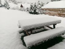 Heavy Snowfall For mid-May in the Alps