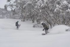 Snow Bases in Australia Pass 1m Mark as Snow Keeps Dumping