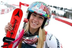 50th World Cup Win For 23 Year Old Mikaela Shiffrin