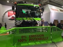 All Electric Piste Groomer Unveiled at Interalpin Trade Show