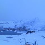 Super Storm Starts to Bring Snow to the Alps