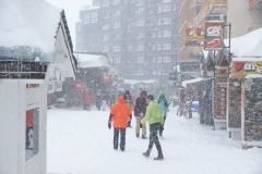Third Major Snowstorm in Three Weeks Heading to the Alps