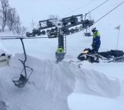 Riksgränsen Digs Out Lifts Ahead of 2020 Season Start