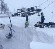 Riksgränsen Digs Out Lifts Ahead of 2020 Season Start