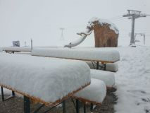 Upto 40cm of Fresh Summer Snow in The Alps