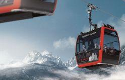New Gondola Completes Rejuvenation of Dolomites Ski Area