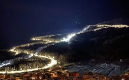 Italian Resort To Open Longest Night Skiing Run in Europe