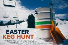 California Ski Centre's Easter Keg Hunt