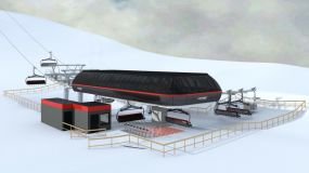 Work Progressing on First 8 Seater Chairlift for New Zealand