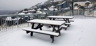 Big Pre-Season Snowfall in Australia