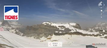 Tignes Opens For Summer Ski Season