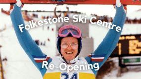 Eddie the Eagle Opens Refurbished Dry Ski Slope