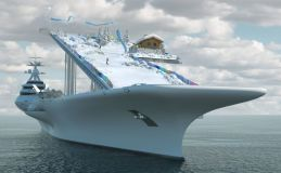 New Plans For Superyacht With A Ski Slope Unveiled