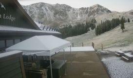August Snowfall in North America