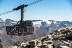 Tignes opens the world's largest and highest open-top aerial cable car
