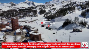 New 6-Seater Chairlift for La Plagne