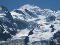Mont Blanc shrinks by almost 1 metre