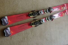 Salomon skis with bindings and boots for sale