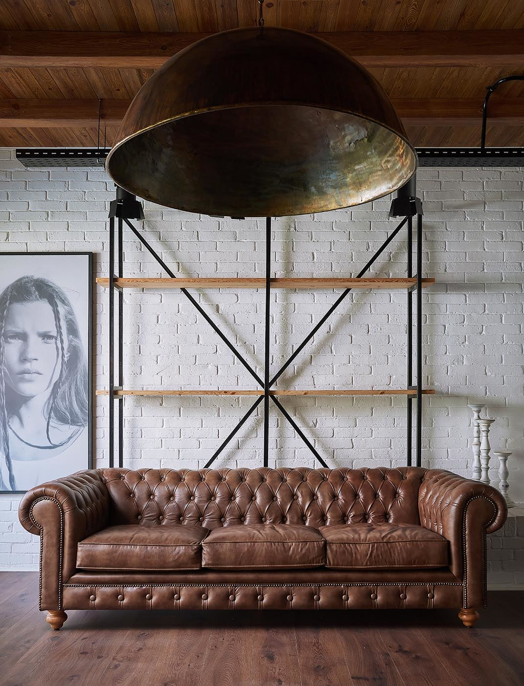 Brown Sofa - Badie Architects