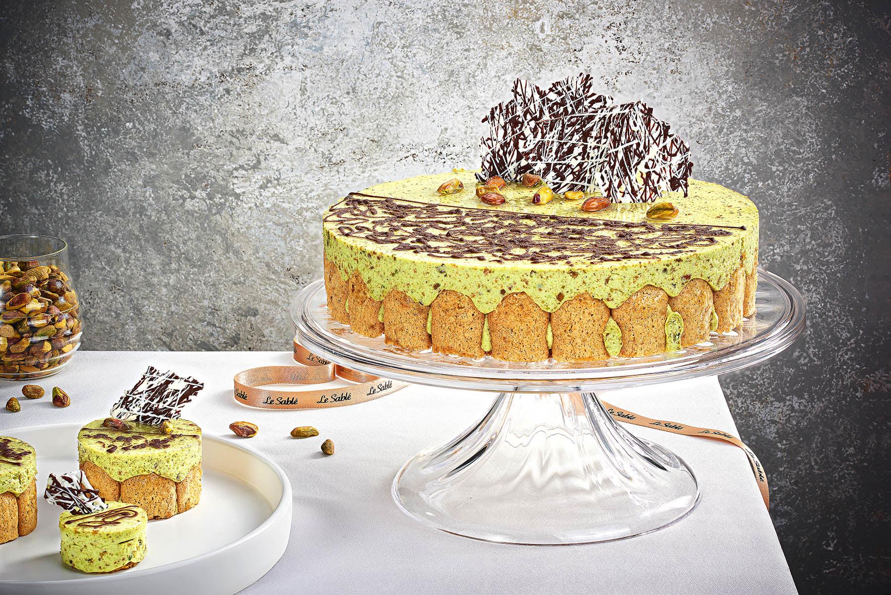 Le Sable - Pistachio Cake - Mohamed Abdel-Hady Photography