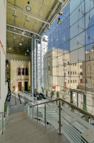 Cairo national theater administrative building 2 - Cube consultants - Mohamed Abdel-Hady Photography