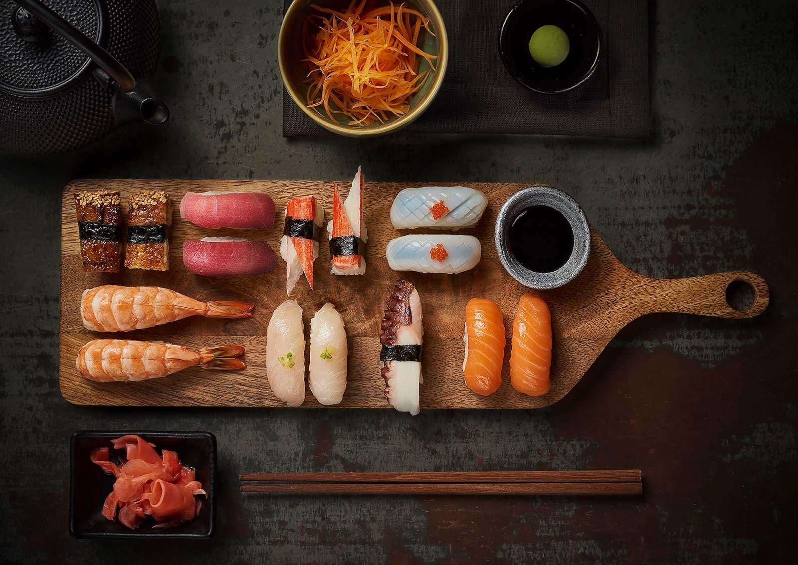 Nigiri - Sashimi - food photography