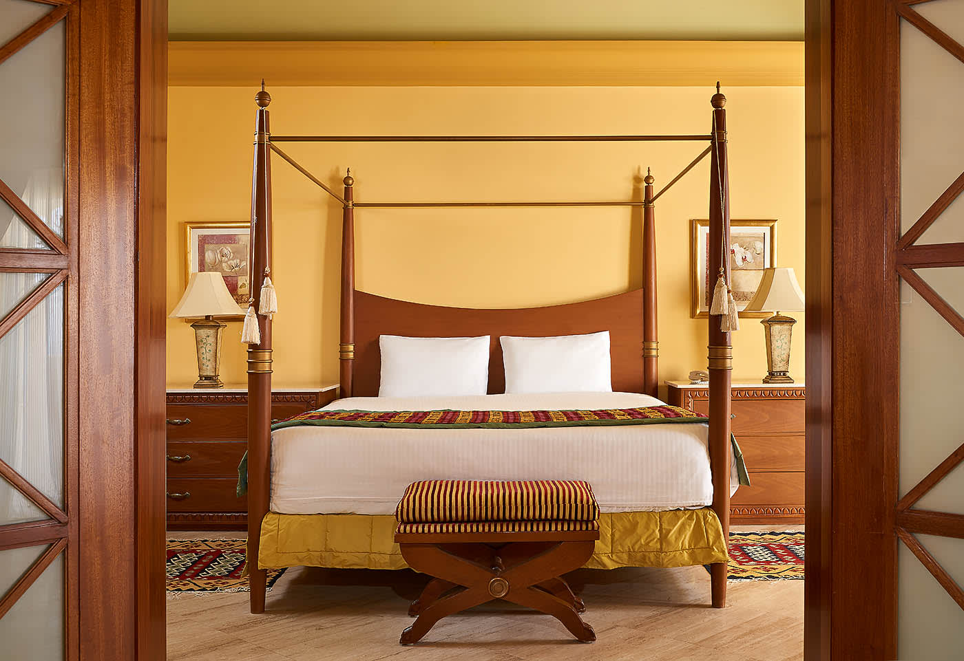 Sofitel Taba heights beach resort Presidential Suite bedroom - Mohamed Abdel-Hady photography