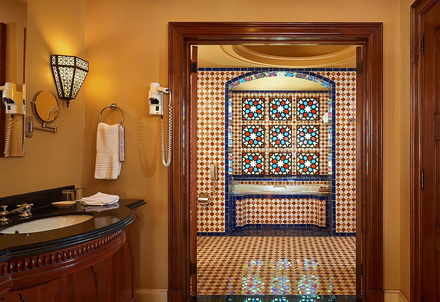 Sofitel Taba heights beach resort Presidential suite bathroom - Mohamed Abdel-Hady photography