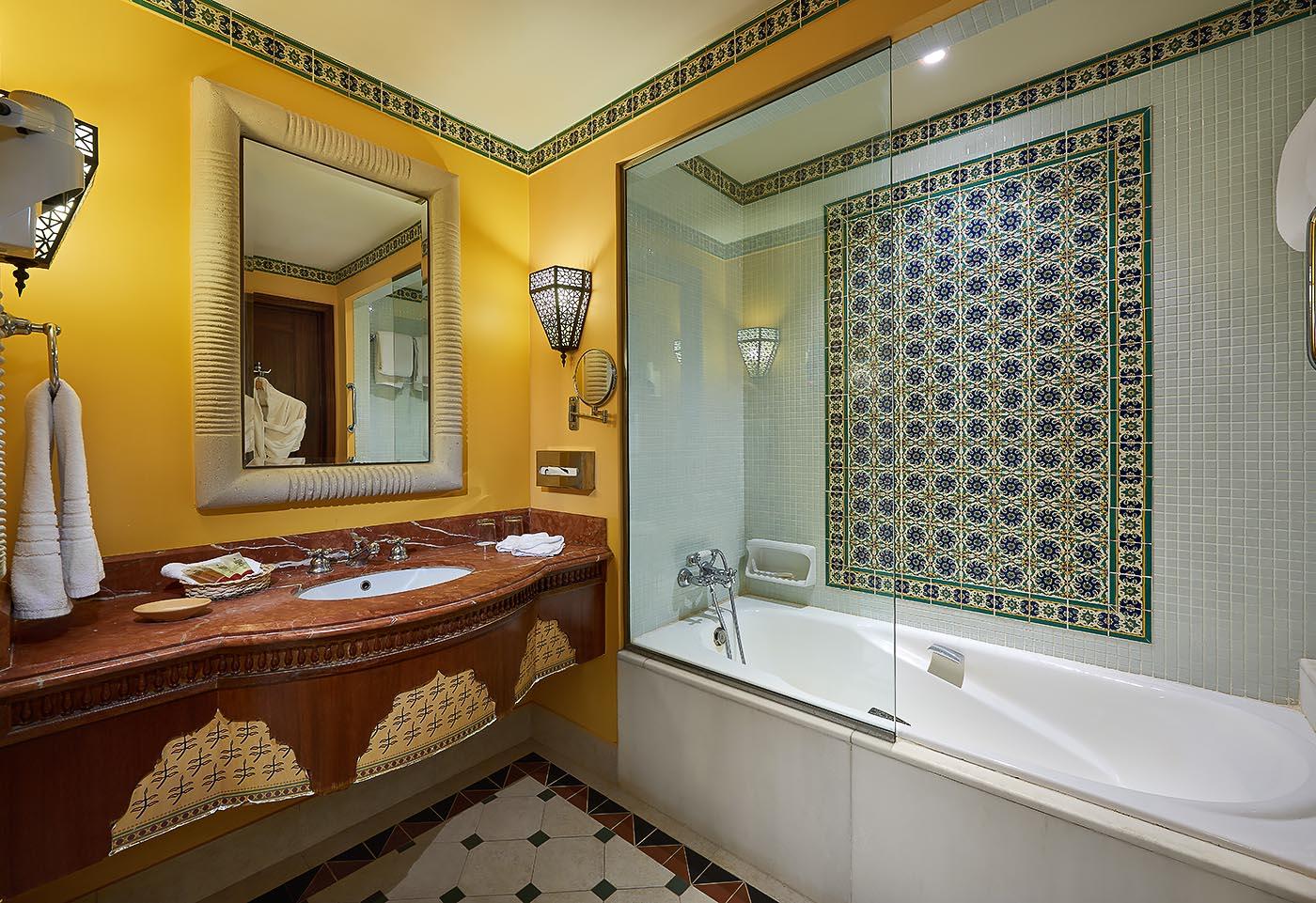 Sofitel Taba beach resort junior suite bathroom