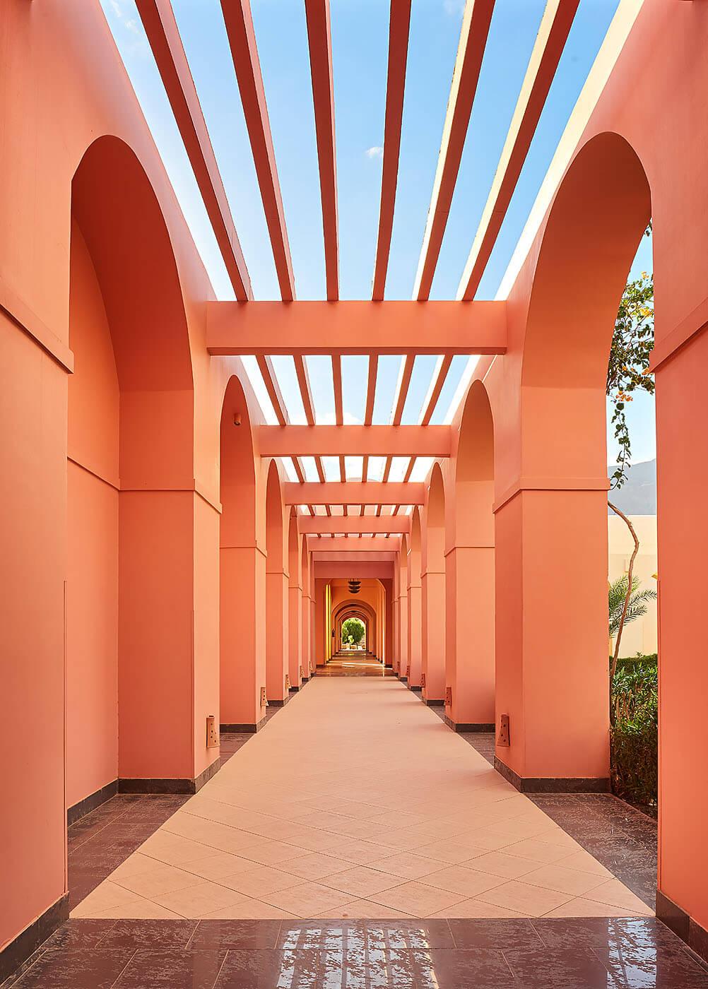 Sofitel Taba Hotel - Symmetry - Mohamed Abdel-Hady Photography