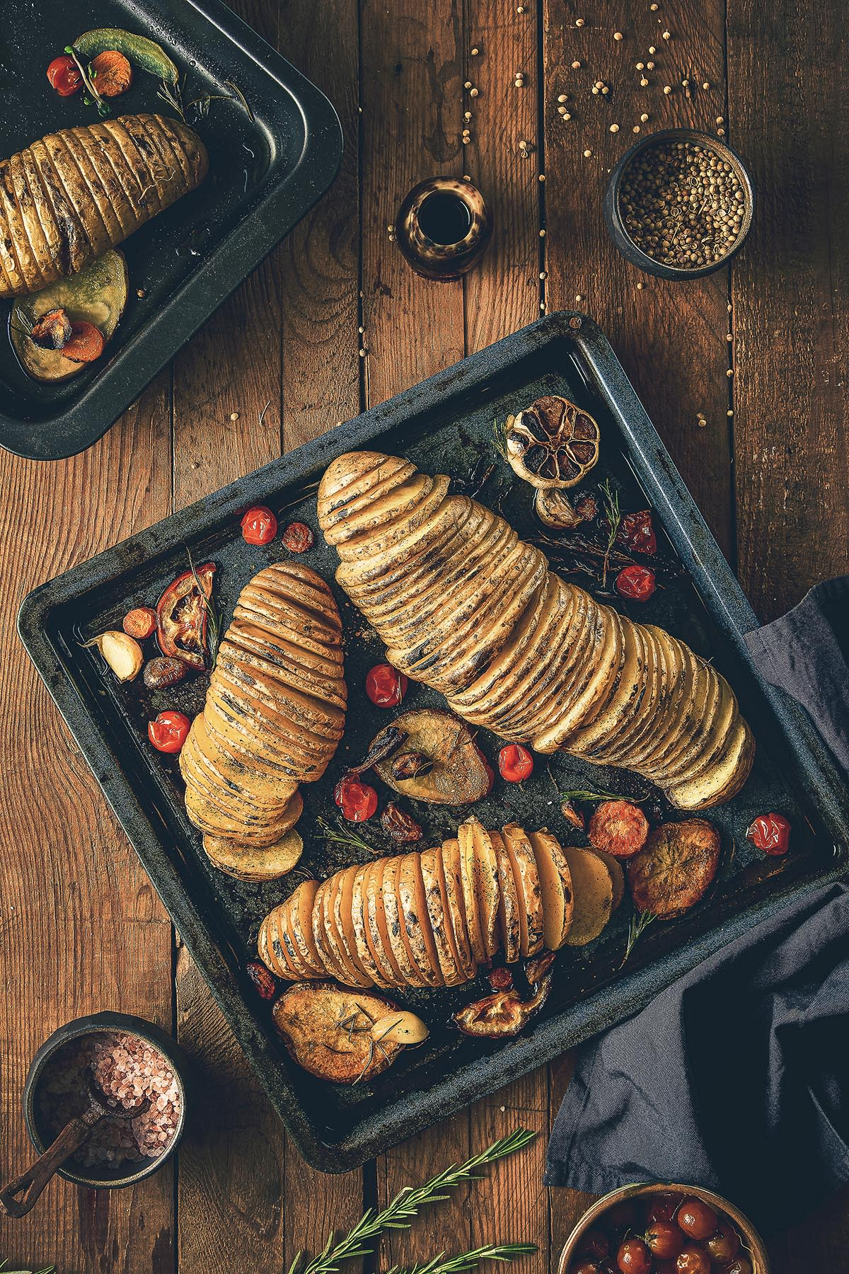 Roasted Potatoes - Food photography - Mohamed Abdel-Hady Photography