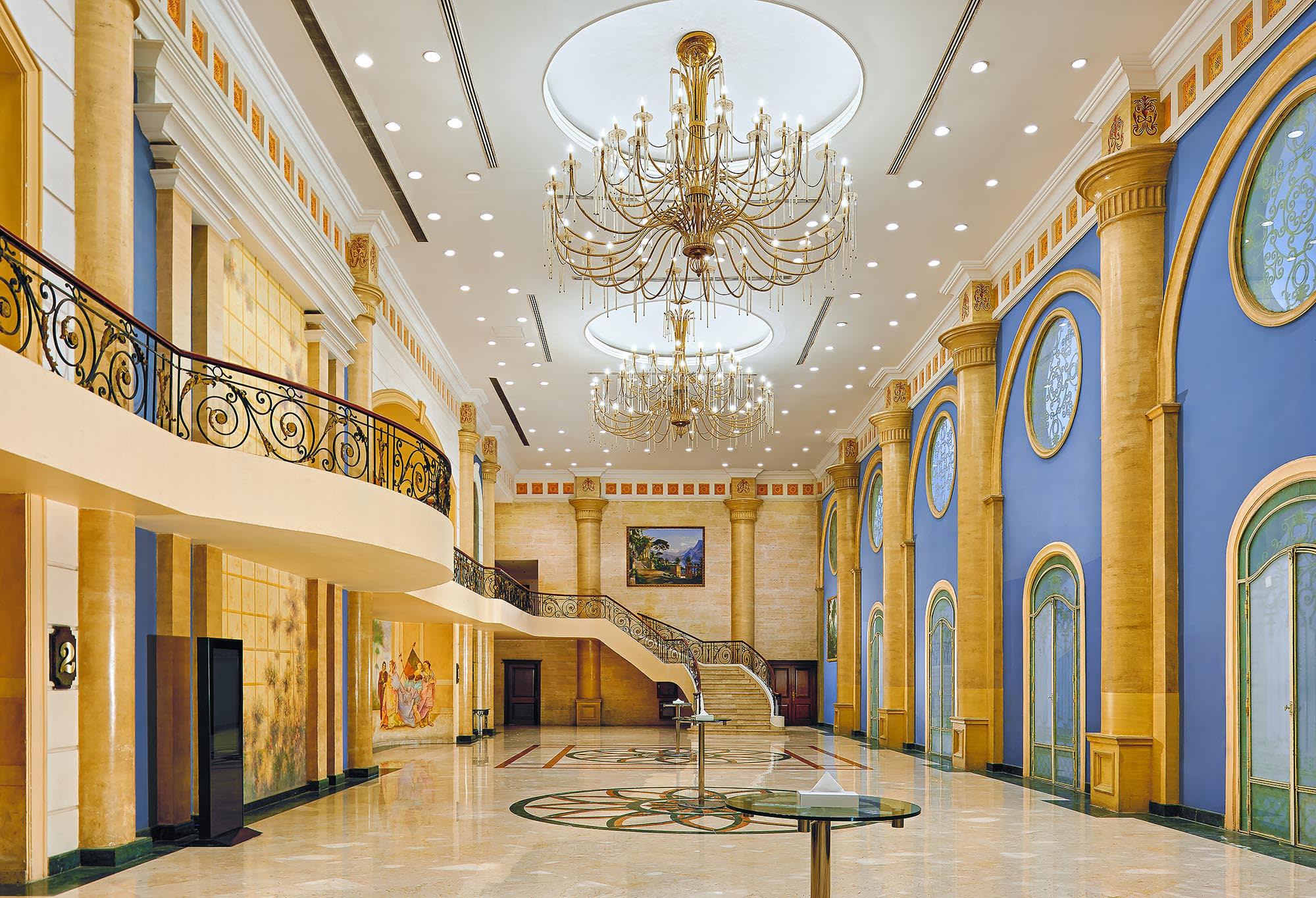 Hilton Alexandria Green Plaza - Al Zahraa Ballroom Foyer