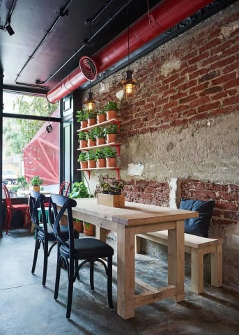 Red Bird - Fast food restaurant Interior shoot - Badie Architects - Mohamed Abdel-Hady Photography