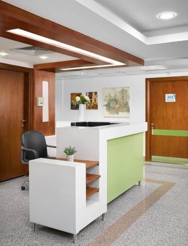Nurses station - Neuro espitalia - Interiors/Architecture photography by Mohamed Abdel-Hady Photography