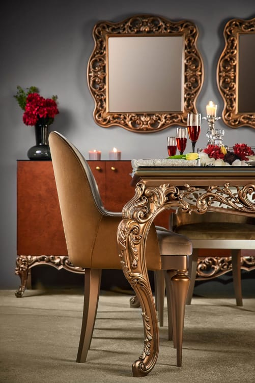 Richie by Shoulah Dining room side chair - Mohamed Abdel-Hady Photography