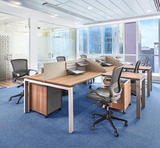 Mohm workstation design at capital business park - Mohamed Abdel-Hady Photography