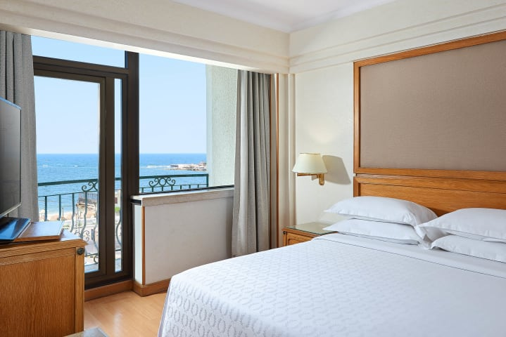 Junior Suite bedroom - Sheraton Montazah Hotel, Alexandria