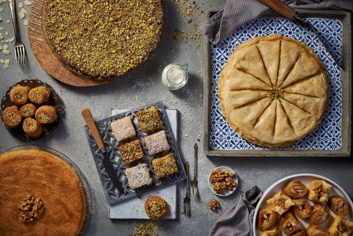 Oriental Desserts - Almonds Sweets - Mohamed Abdel-Hady food photography Egypt