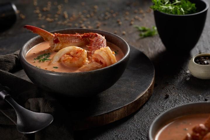 Sea food soup - souq el samak