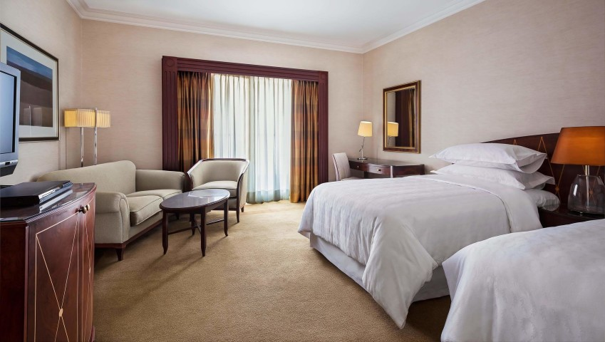HG-Double guest room- sheraton cairo hotel
