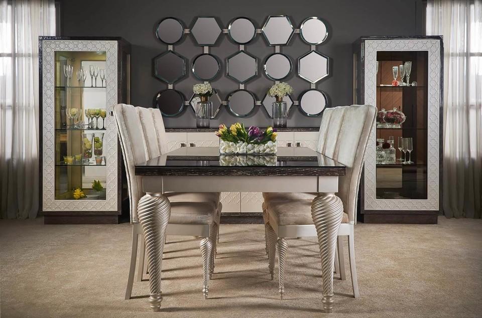 Luxury dining room, ricci, Jan 2017