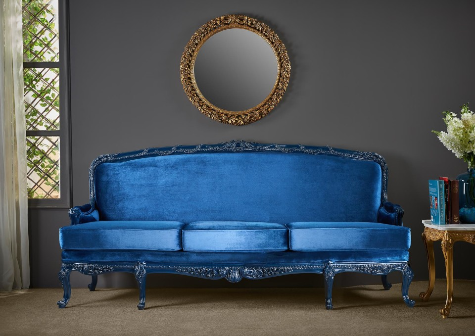 FG - blue sofa - shoulah furniture shoot in damietta