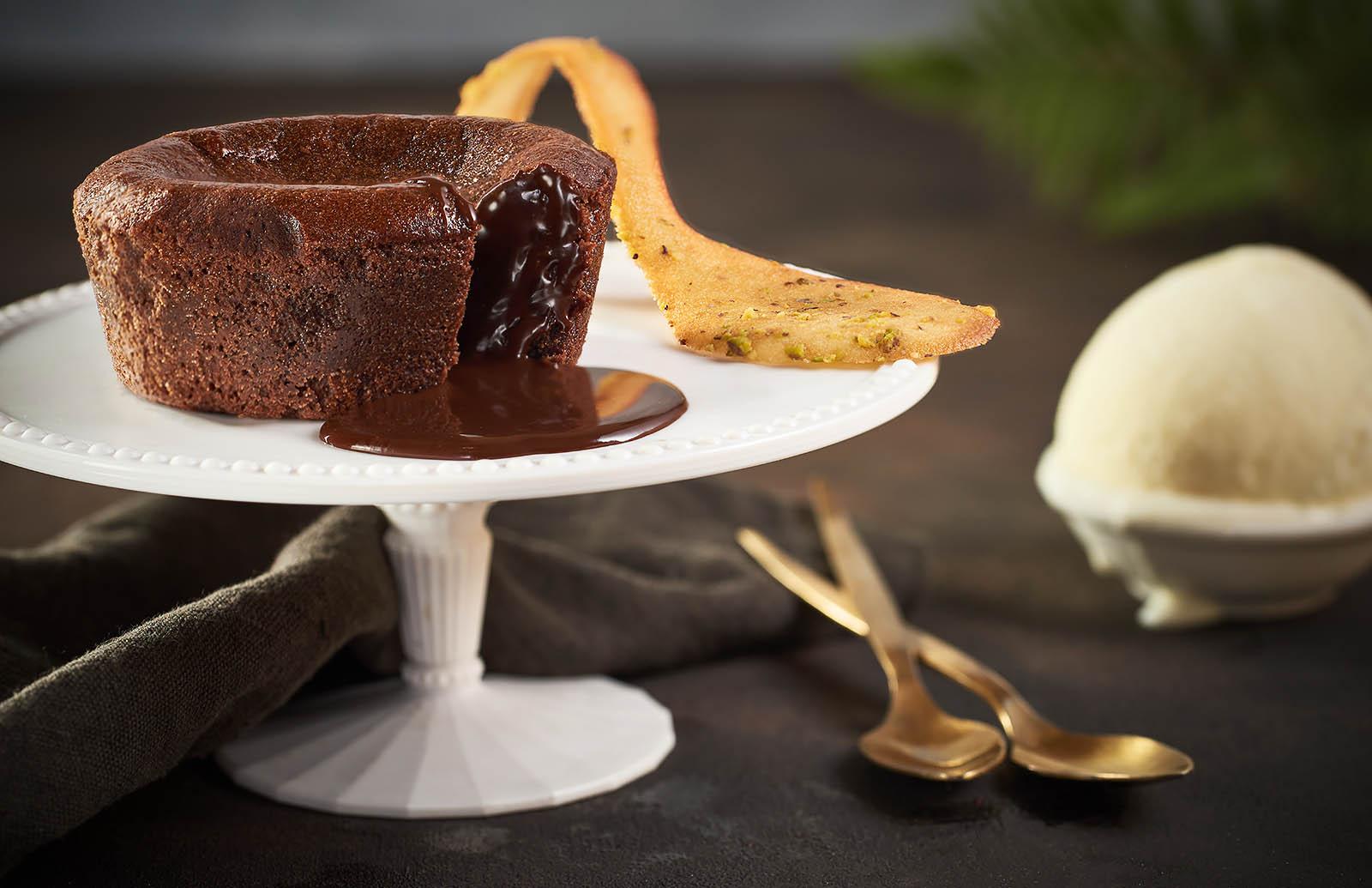 Molten cake - the molten restaurant