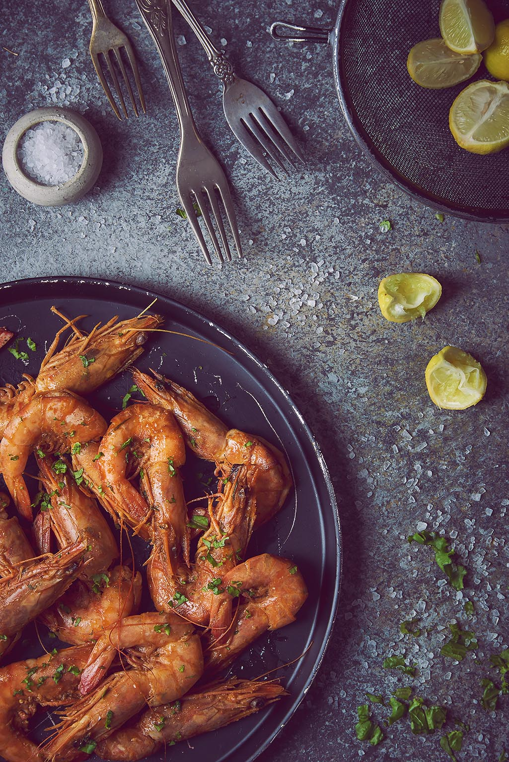 Shrimps - personal food photography project