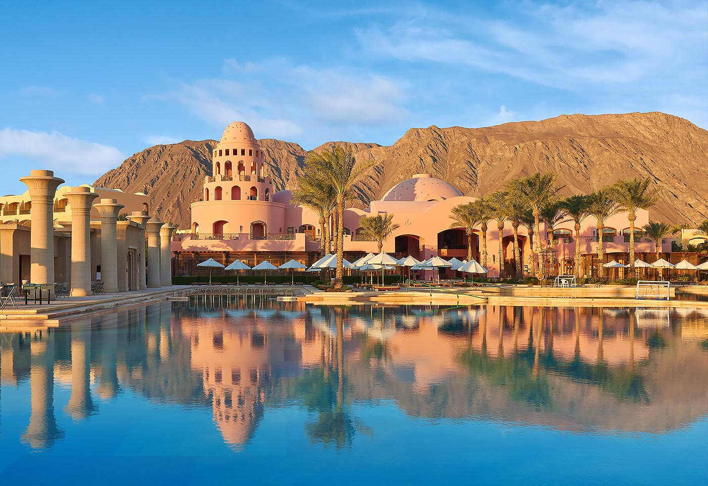 Sofitel Taba heights beach resort overview morning - Mohamed Abdel-Hady Photography